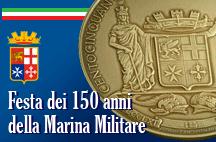 L'Istituto Poligrafico e Zecca dello Stato ha realizzato la Medaglia Celebrativa in occasione della Festa dei 150 anni della Marina Militare.