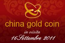 La delegazione della China Gold Coin, società che fa riferimento alla Banca Centrale di Cina sarà in visita presso la Zecca dello Stato.