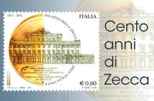 Cento anni di Zecca: emissione del francobollo celebrativo