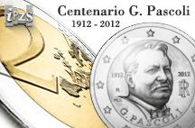 L'Ipzs dedica una moneta a Giovanni Pascoli a 100 anni dalla scomparsa