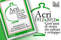 Ipzs: un Francobollo per celebrare i Cent'Anni dell'ACRI