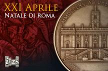 Una Medaglia dell'IPZS per festeggiare il 2765° Natale di Roma