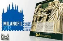 Milanofil 2013: l'Editto di Costantino nel Foglietto Erinnofilo dell'Ipzs
