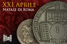Una Medaglia dell'Ipzs per festeggiare il 2766° Natale di Roma