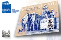 Romafil 2013: un Foglietto dell'IPZS celebra Giachino Belli
