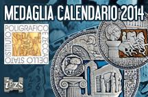 Istituto Poligrafico e Zecca dello Stato: dagli allievi della SAM la Medaglia Calendario 2014