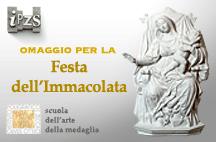 Festa dell'Immacolata: dall'IPZS una scultura per Papa Francesco