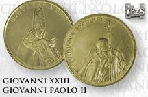 Canonizzazione PAPI: due medaglie IPZS dedicate ai nuovi SANTI