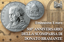 Le ultime monete emesse: Bramante, Galileo e Semestre italiano UE