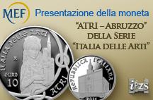 L'IPZS presenta la moneta di Atri nell'antica Cattedrale