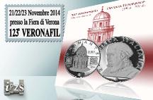 L'IPZS con la moneta del Bramante al 123° Veronafil