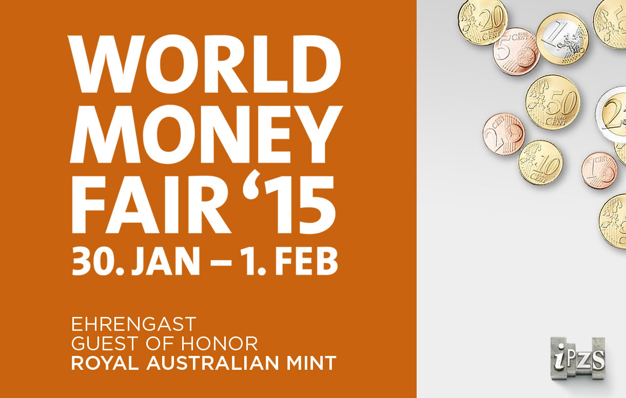 "44^ Edizione ""World Money Fair: l'IPZS presenta la Monetazione 2015"