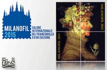 L'Istituto Poligrafico e Zecca dello Stato a Milanofil 2015  con un Foglietto Erinnofilo sull'Arcimboldo