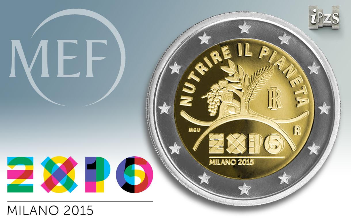 Expo 2015: emessa la moneta commemorativa da 2 Euro