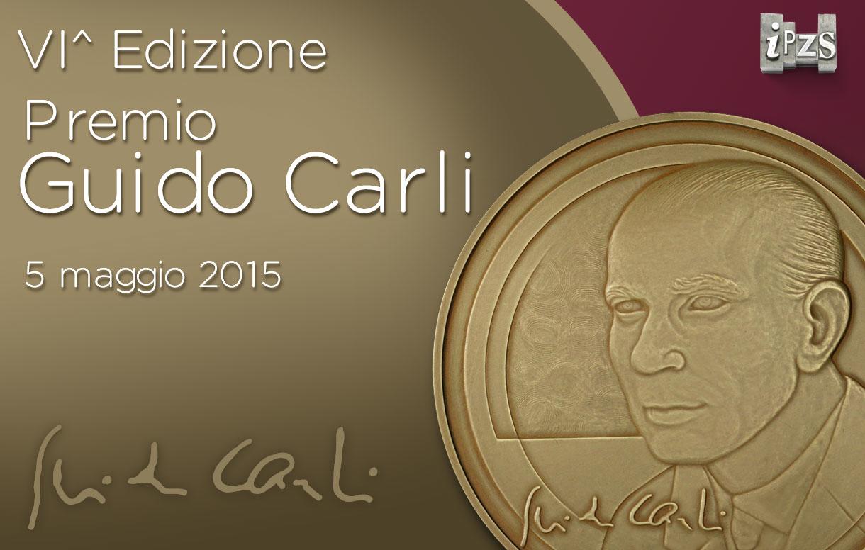 Sesta Edizione Premio Guido Carli: l'IPZS realizza le medaglie premio