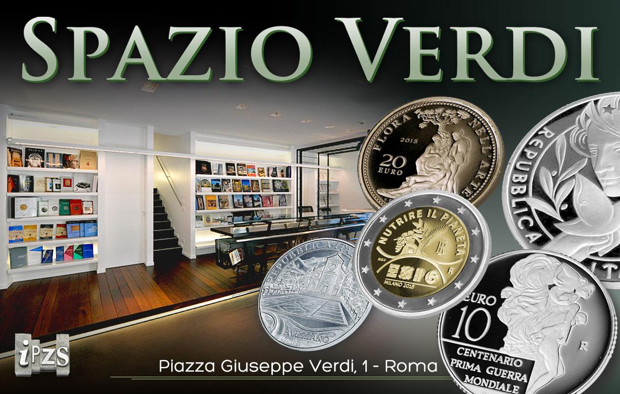 """Incontro numismatico: le prime monete 2015 presentate a """"Spazio Verdi"""""""