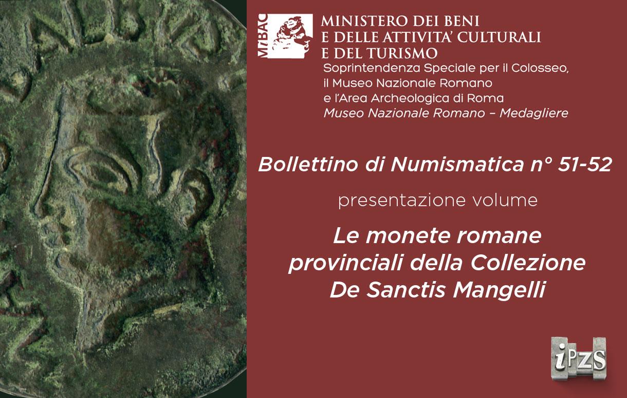 Museo Nazionale Romano: l'IPZS presenta il nuovo numero del Bollettino di Numismatica