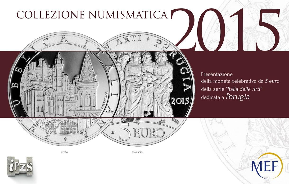 IPZS e Comune di Perugia insieme presentano la moneta celebrativa