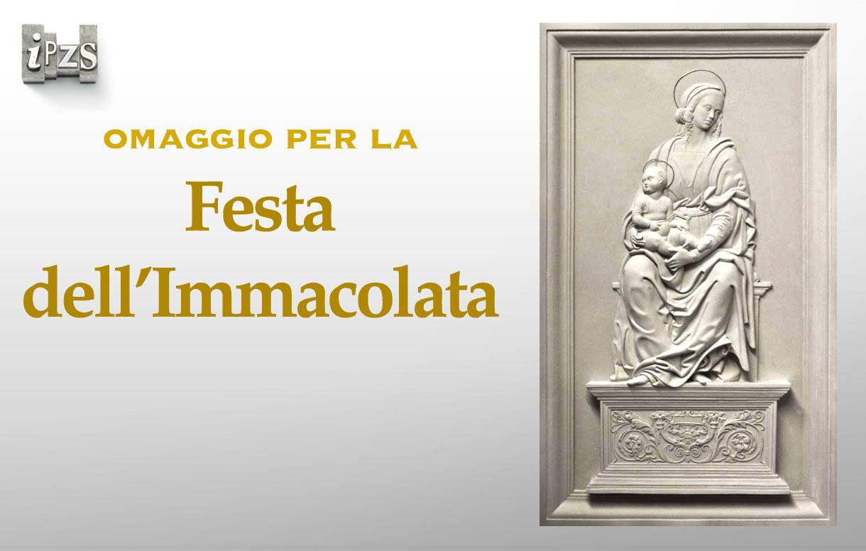 Festa dell'Immacolata: dall'IPZS una omaggio alla Madonna