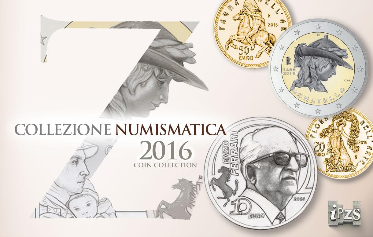 Prima emissione 2016: quattro nuove monete da collezione