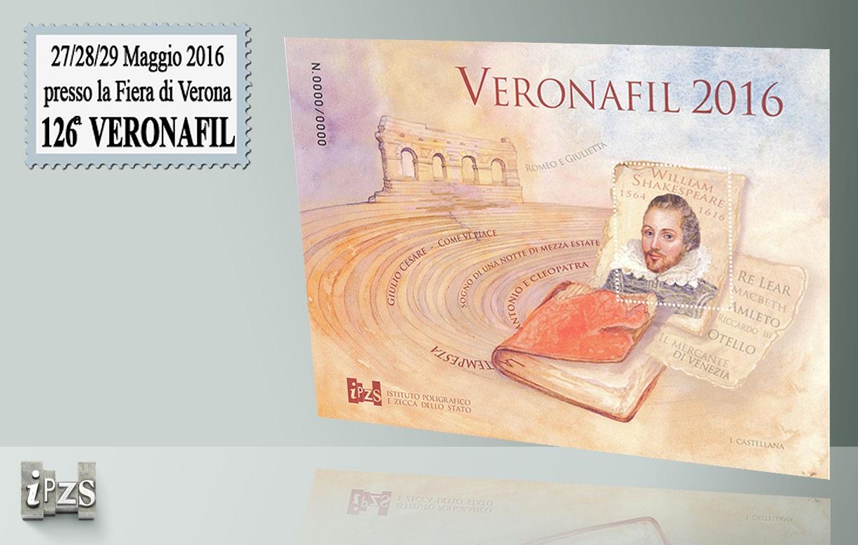 Al 126° Veronafil con le ultime emissioni numismatiche del 2016