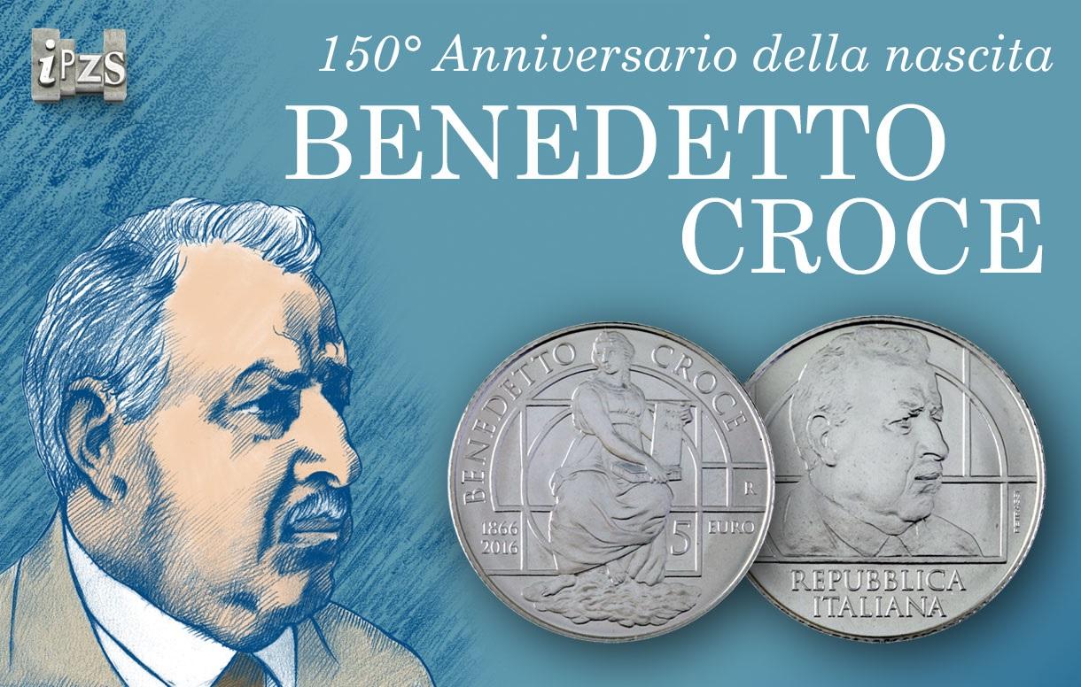 Una moneta per i 150 anni della nascita di Benedetto Croce