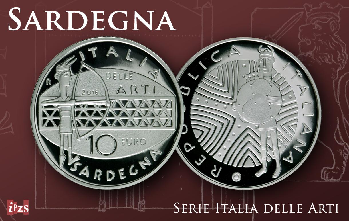 Italia della Arti: dopo Recanati, una moneta per la Sardegna