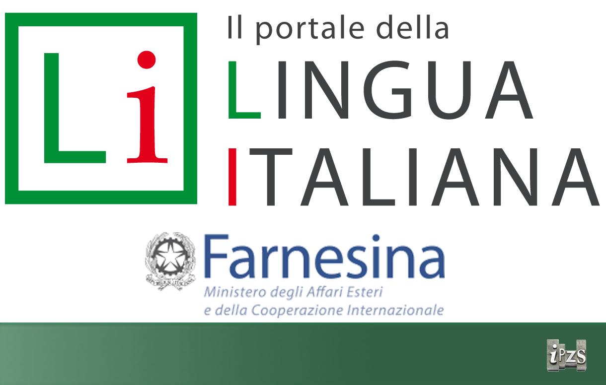 Online il portale della lingua italiana