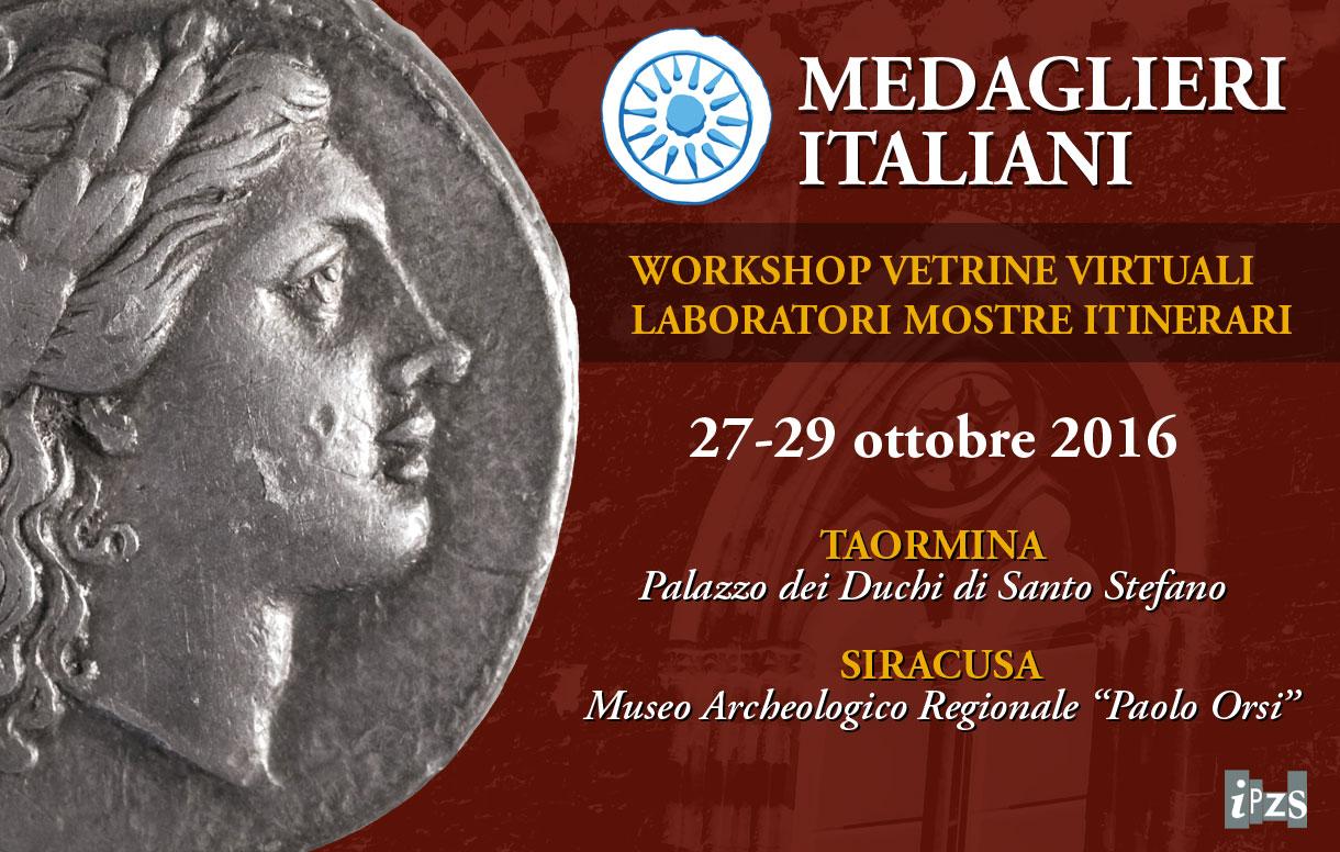 Ipzs vola a Taormina per il workshop dei Medaglieri Italiani