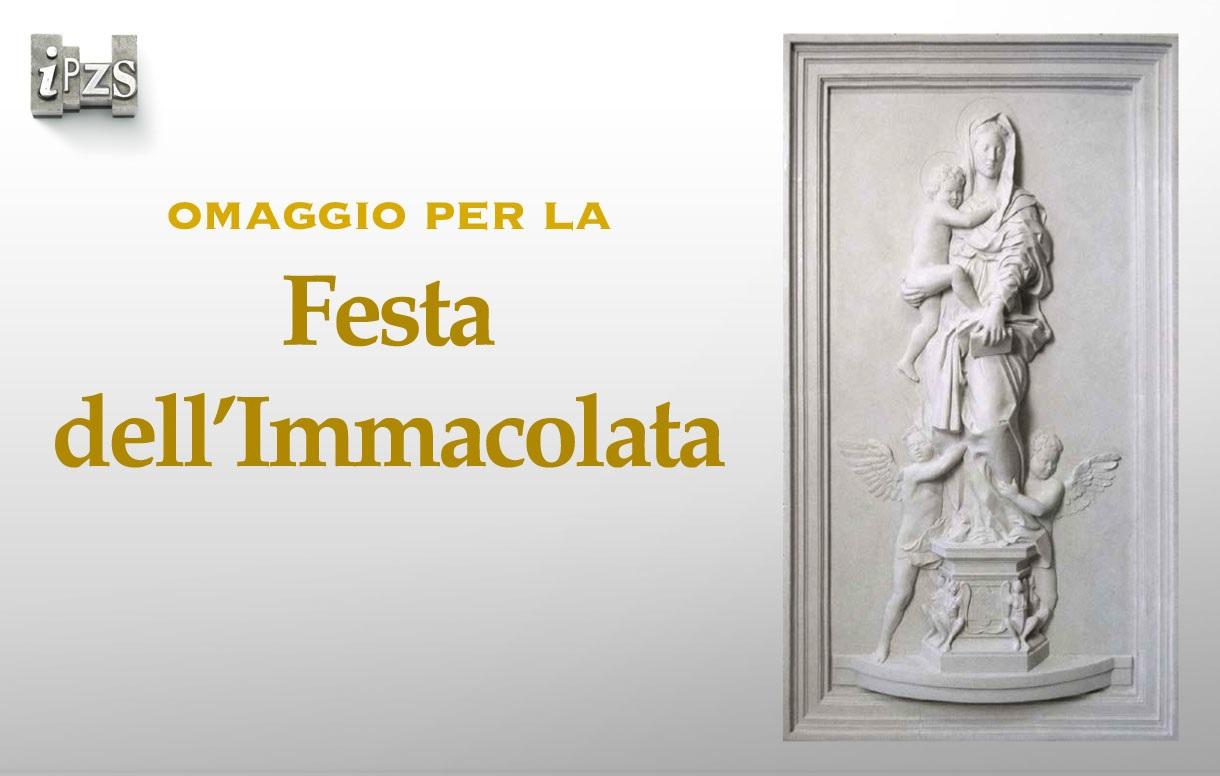 Immacolata Concezione: il bassorilievo della SAM per le celebrazioni con il Santo Padre