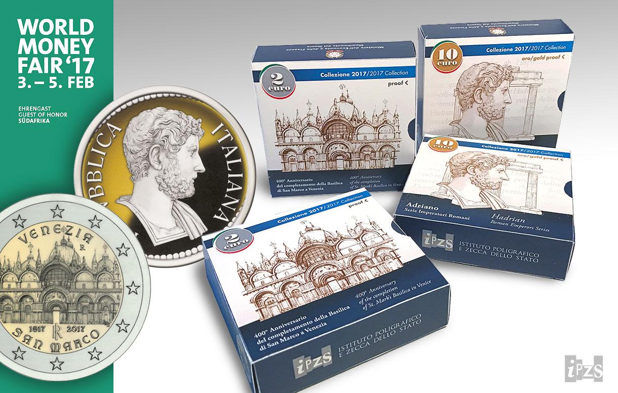 """Premio """"Coin of the Year 2017"""" alla Zecca dello Stato. La nuova collezione numismatica prestentata al World Money Fair"""