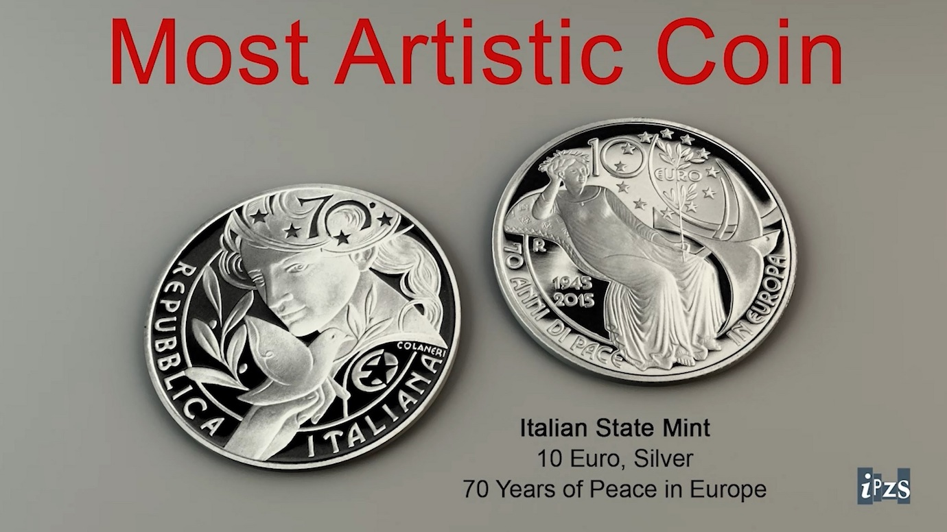 Most Artistic Coin al WMF 2017