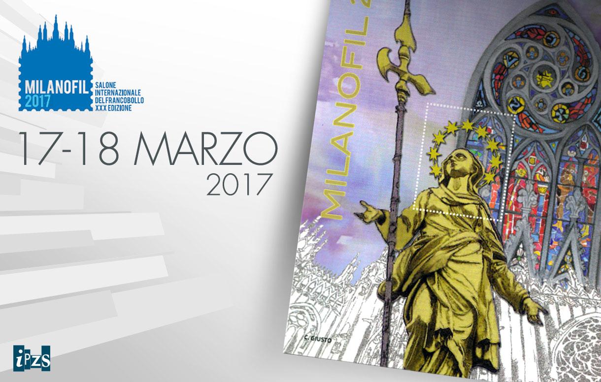 A Milanofil con il Foglietto erinnofilo e le nuove monete della collezione 2017