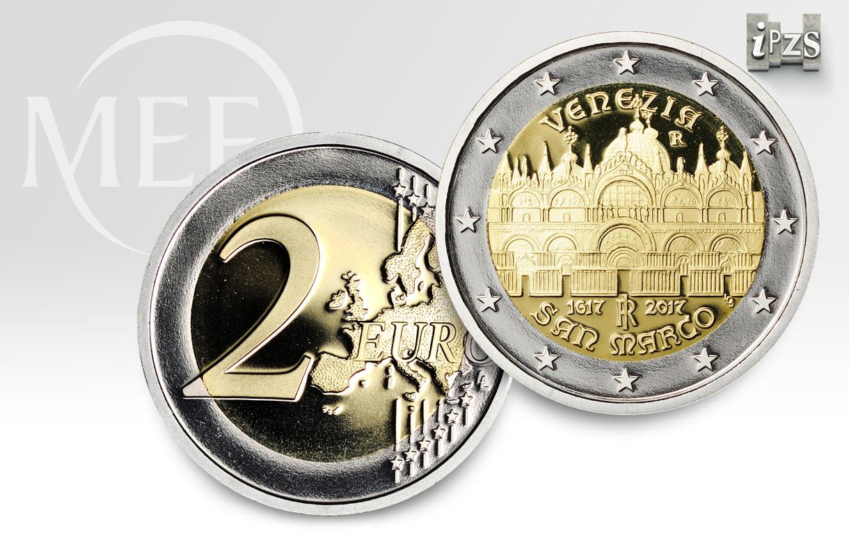 Collezione 2017: la prima 2 euro dedicata alla basilica di San Marco