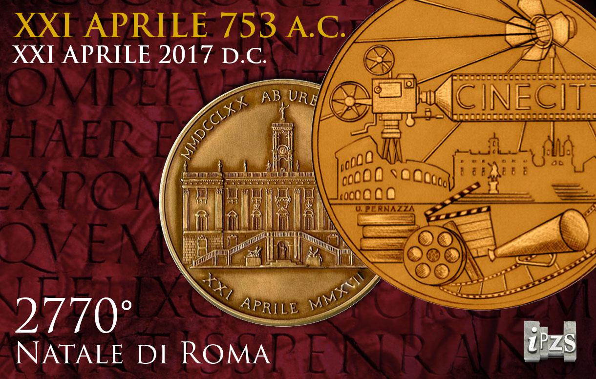 La medaglia per il Natale di Roma