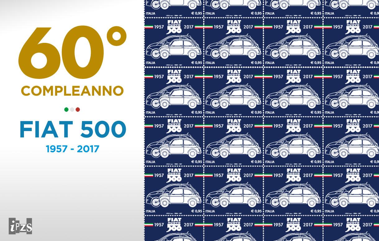 La FIAT 500 compie 60 anni