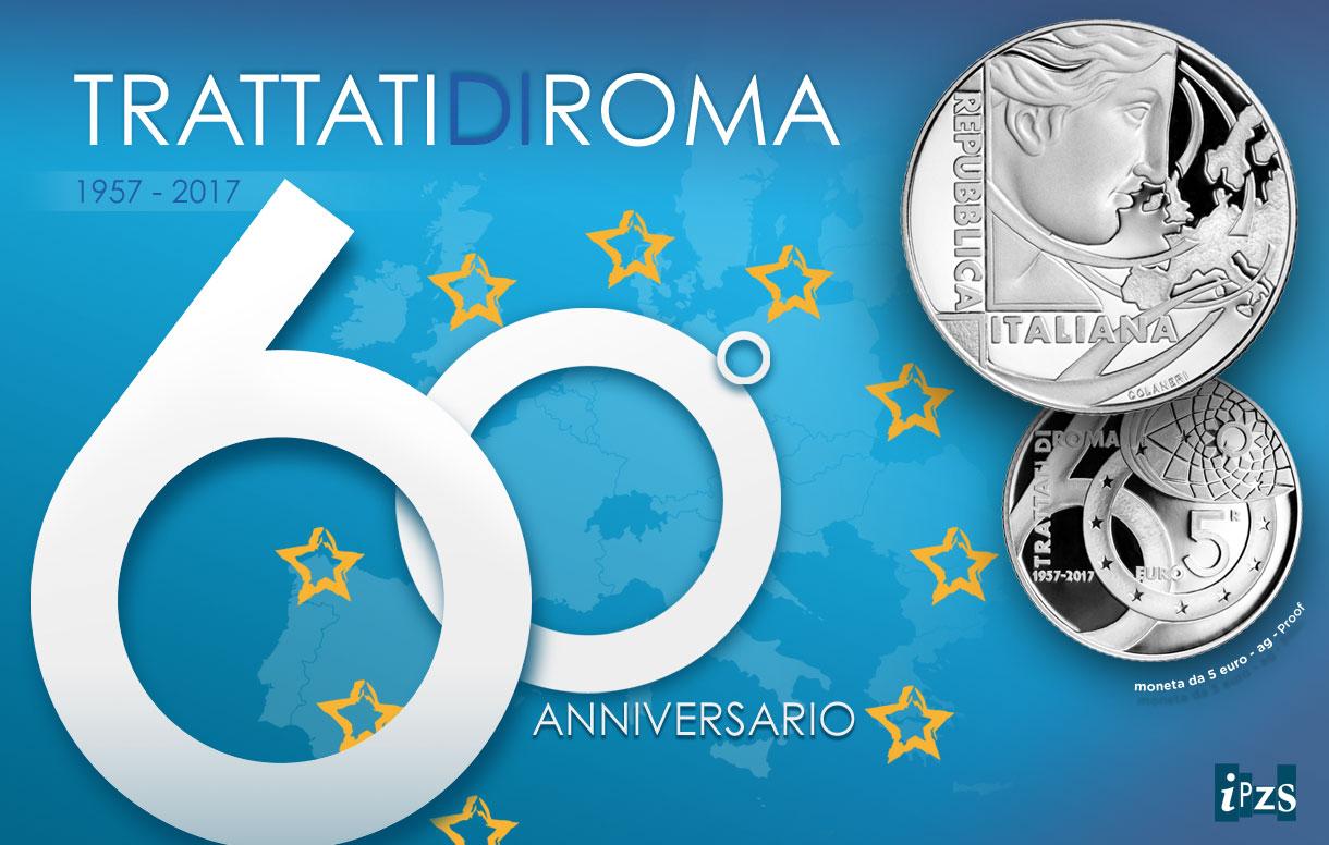 Trattati di Roma, ecco la divisionale 10 pezzi