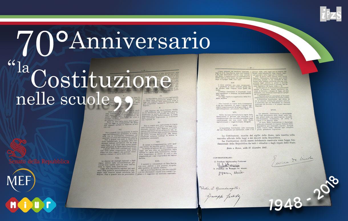 Una copia della Costituzione in ogni scuola: la cerimonia di presentazione al Senato