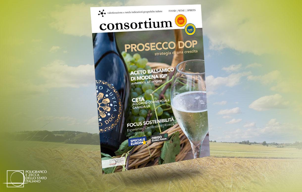 Nasce 'Consortium', il magazine dei Consorzi di tutela DOP e IGP italiani