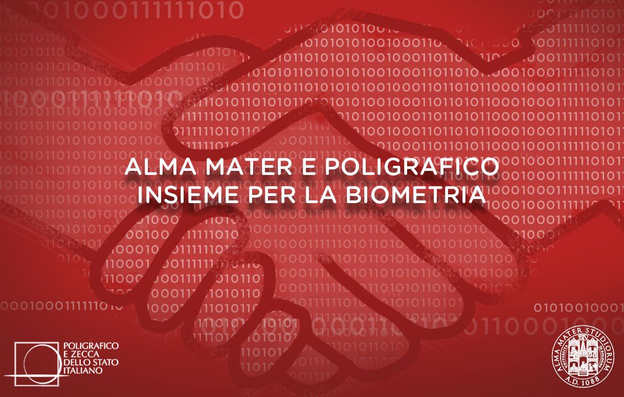 Alma Mater e Poligrafico insieme per la biometria