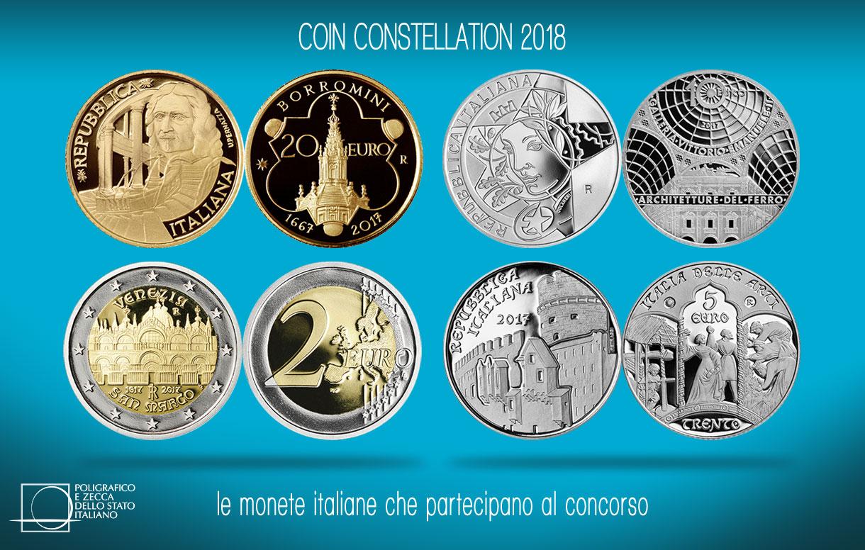 """Votate per l'Italia al """"Coin Constellation 2018"""""""