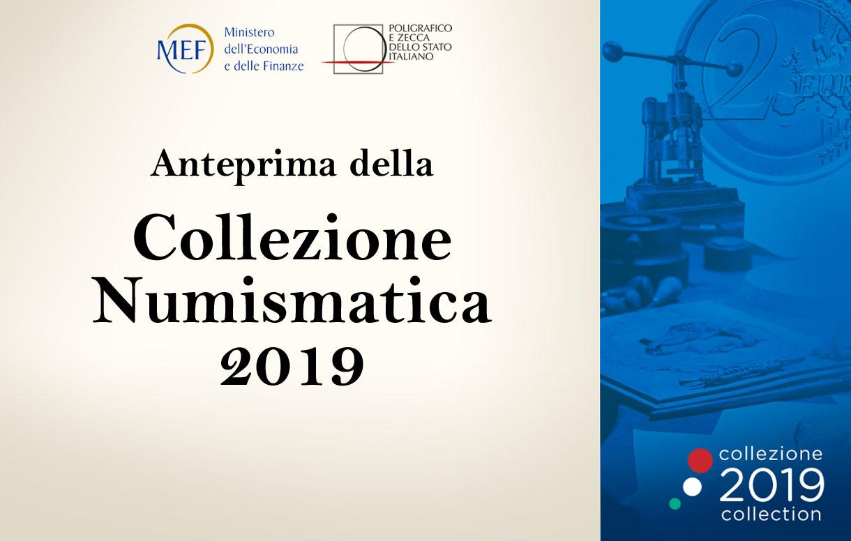 Collezione Numismatica 2019: presentazione in anteprima al MEF