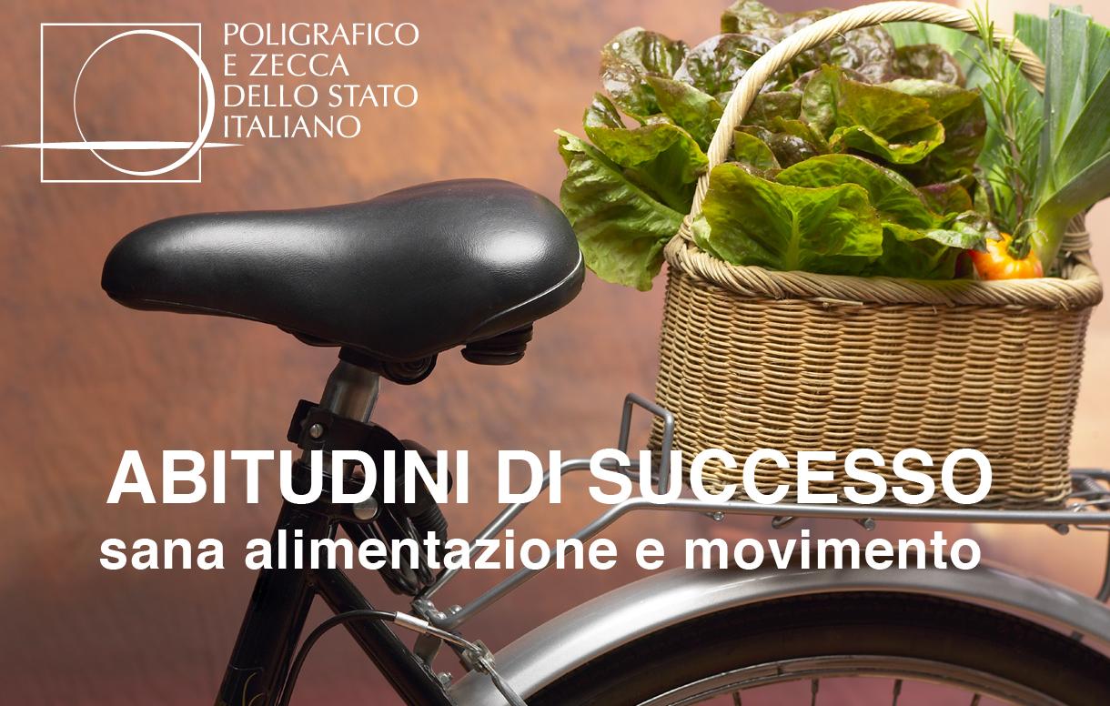 """Iniziativa """"Abitudini di successo. Sana alimentazione e movimento"""" : un focus sui nuovi investimenti del Poligrafico nel welfare aziendale"""