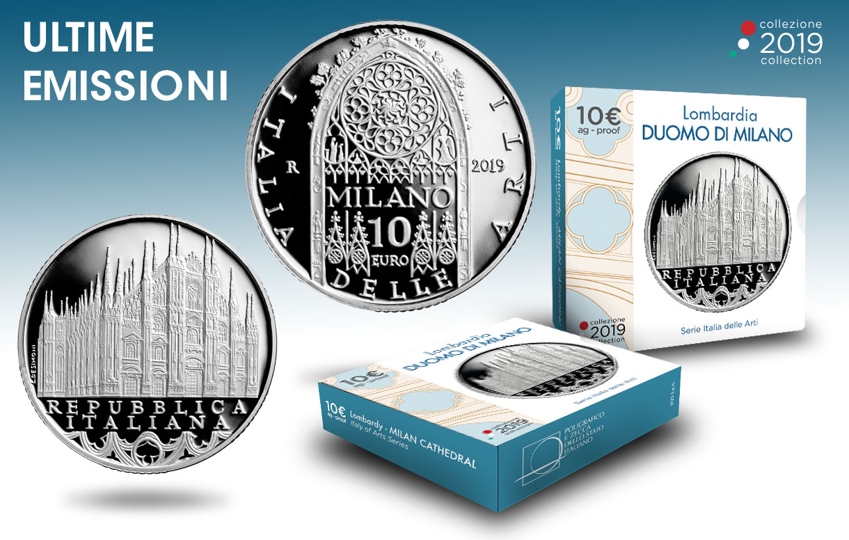 Collezione Numismatica 2019: la bellezza e l'arte del Duomo di Milano celebrate in una moneta