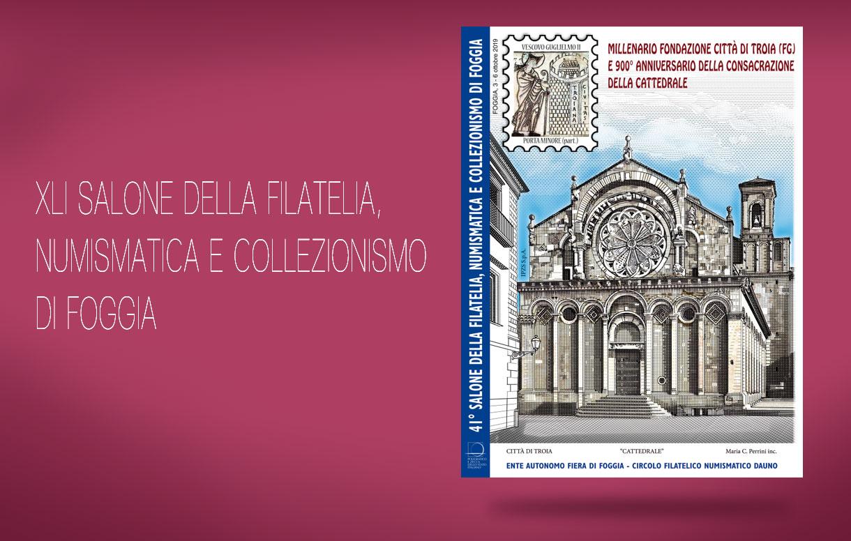 Il Poligrafico a Foggia per il 41° Salone della Filatelia, Numismatica e Collezionismo