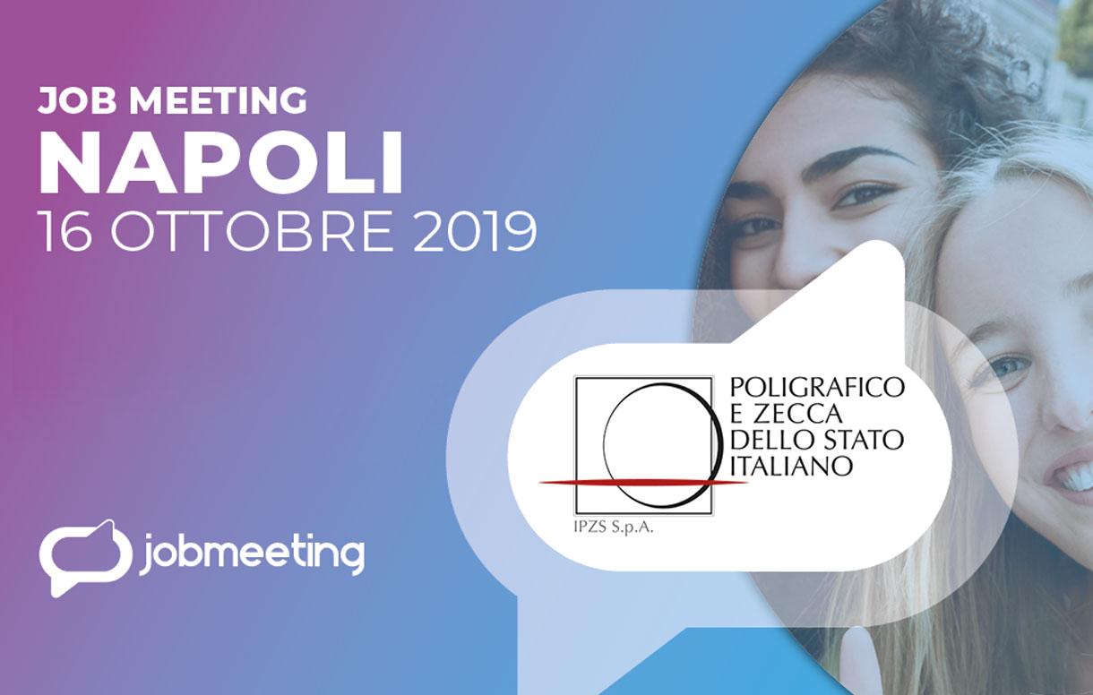 Orientamento, formazione e lavoro. Al Job Meeting di Napoli il Poligrafico incontra i giovani talenti