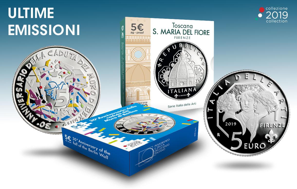 Due monete in argento per celebrare l'arte e la storia internazionale