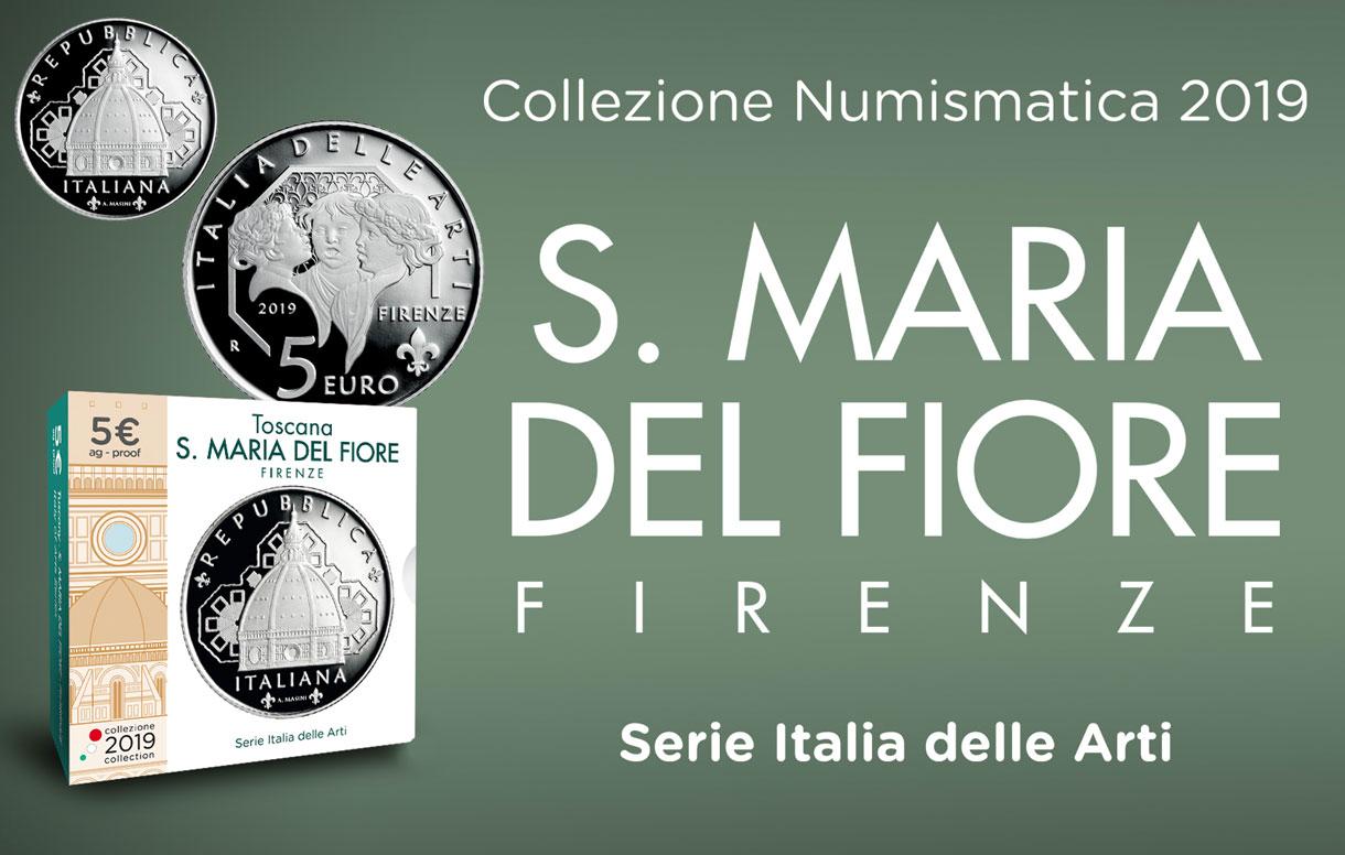 Presentata a Firenze la moneta dedicata alla Cattedrale di Santa Maria del Fiore