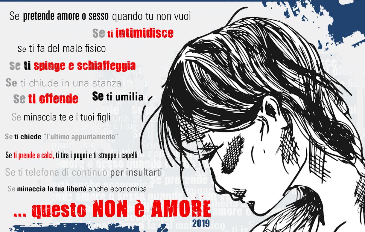 """""""Questo non e' amore 2019"""": il contributo del Poligrafico per la giornata internazionale contro la violenza di genere"""