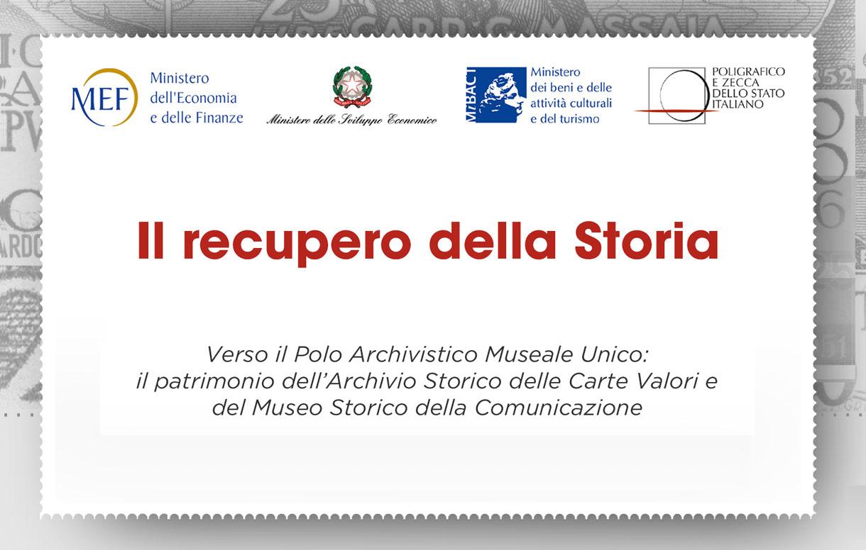 """""""Il Recupero della Storia"""": la valorizzazione del patrimonio culturale italiano"""